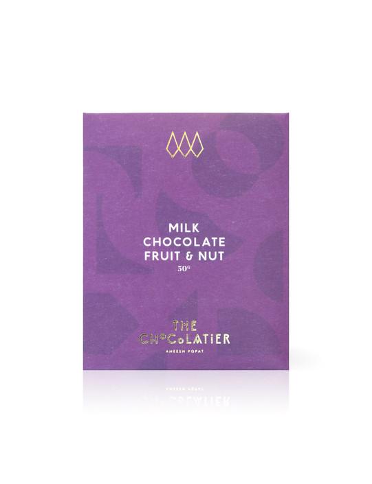 Fruit & Nut Milk Chocolate Bar 50g