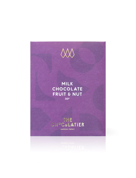 Fruit & Nut Milk Chocolate Bar 50g