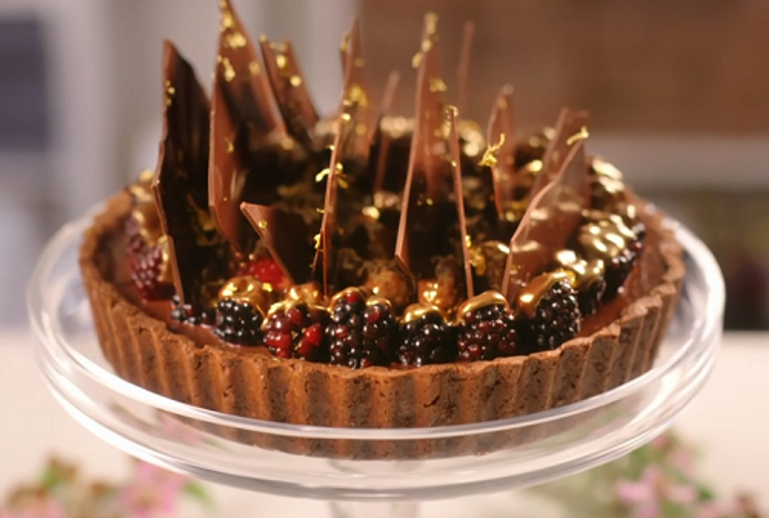 RECIPE: ANEESH POPAT'S ULTIMATE CHOCOLATE TART