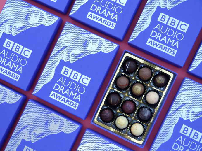 BBC Audio Drama Awards' Chocolates