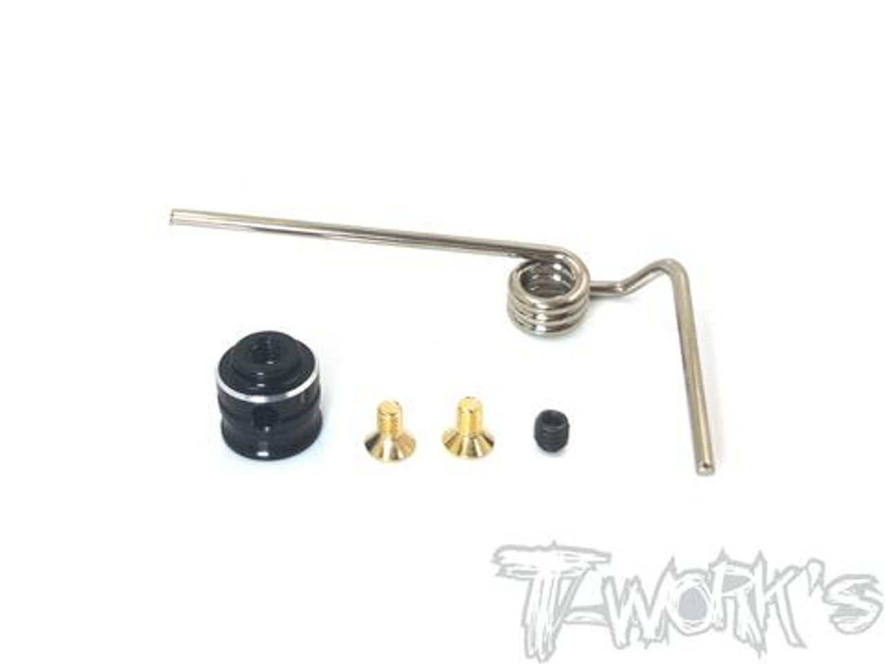 DLC coated Rear Shock Shaft  63mm For Kyosho MP9 TKI3//TKI4// MP9E //MP9E EVO 2pcs