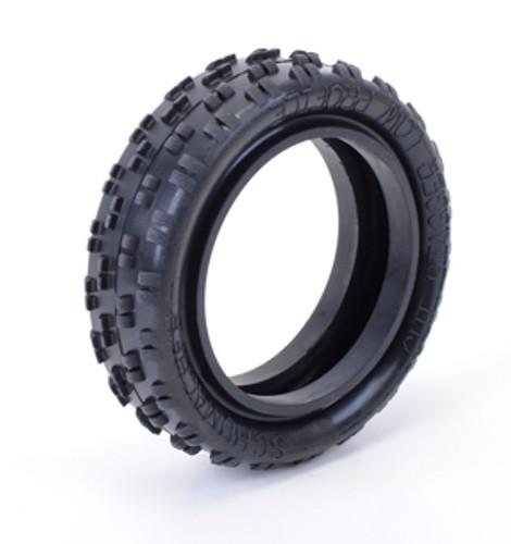 Schumacher U6770 - Cut Stagger 1/10 Tyre Low Profile Yellow