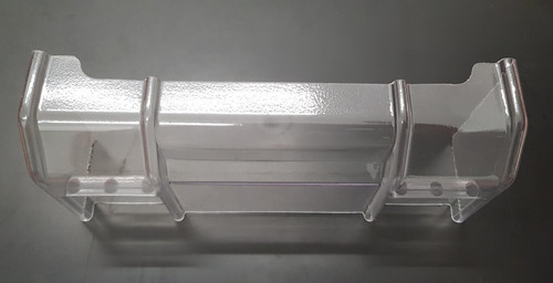 1/8 Lexan High Down Force Wing (No centre plate)