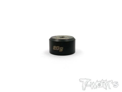 T-Works TA-079 Anodized Precision Balancing Brass Weights 20g
