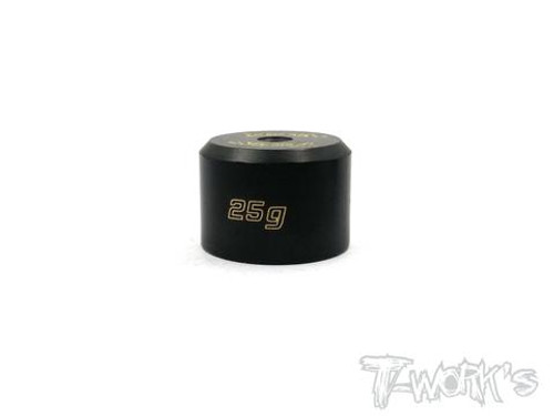 T-Works TA-080 Anodized Precision Balancing Brass Weights 25g