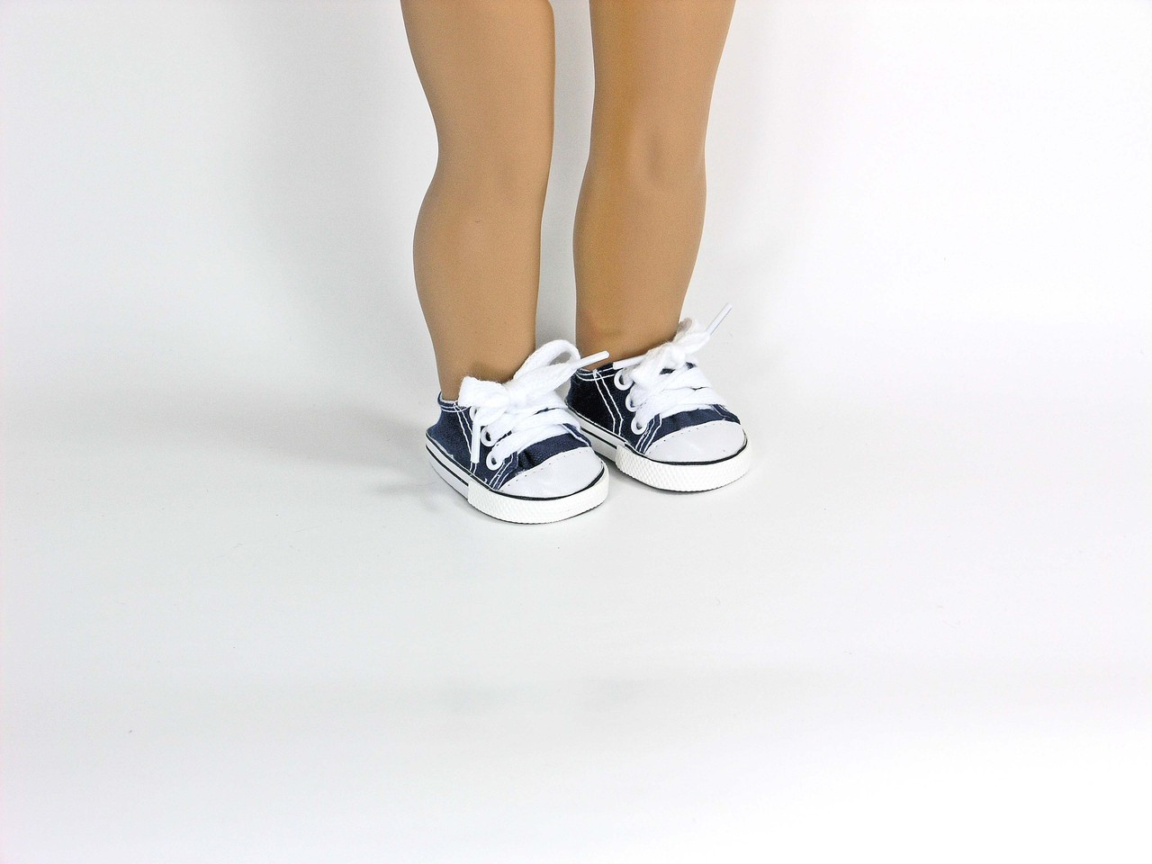 98aecf036d62d Navy Doll Sneakers for American Girl and Bitty Baby