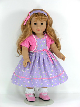 """Lavender Tights made for 18/"""" American Girl Doll Clothes Accessories"""