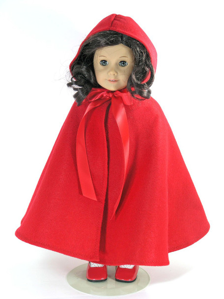 "Red Riding Hood Costume for 15/"" Doll"