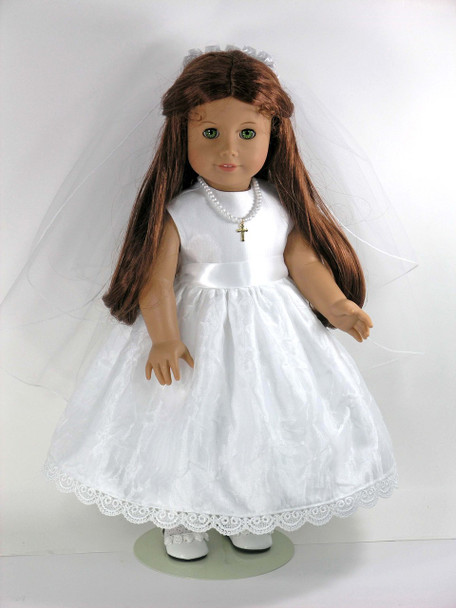 American Doll Communion Dress