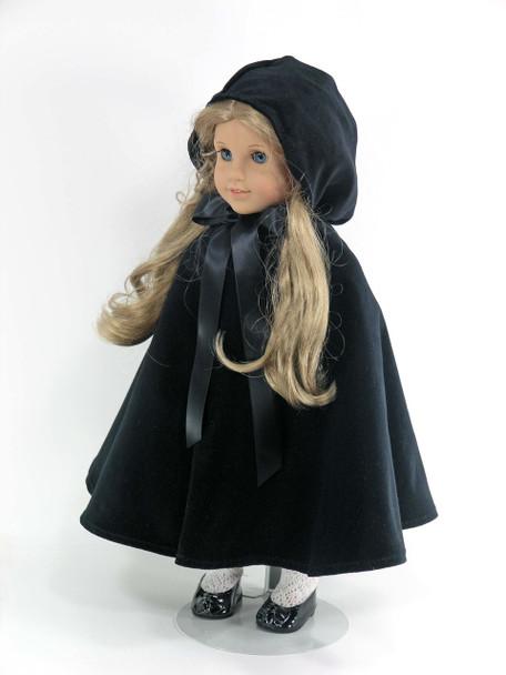 handmade doll cape or cloak