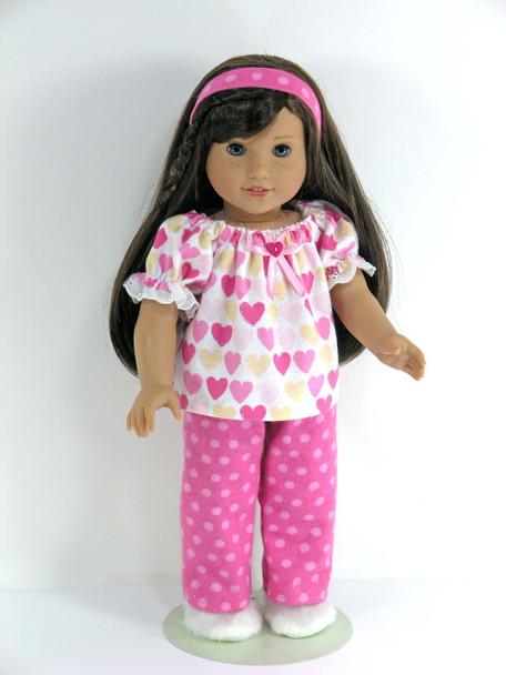 Handmade doll sleepwear