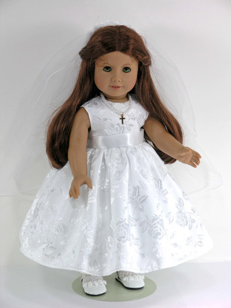 American Doll Communion Dress