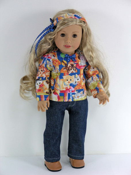 Handmade 18 inch doll outfit