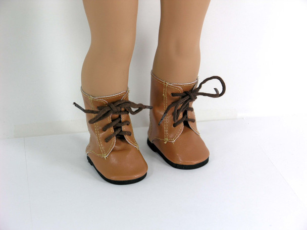 brown doll boots