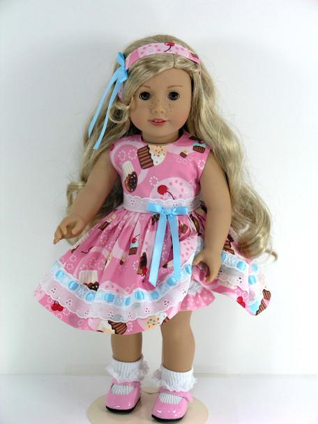 1950s American doll dress