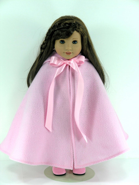Pink Doll Cape for American Girl