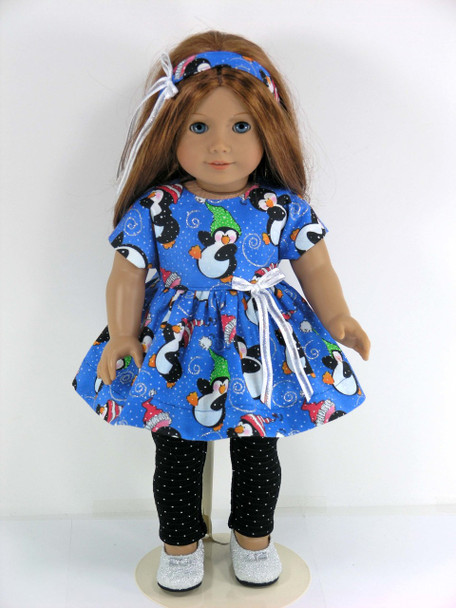 Handmade American Doll Leggings Outfit