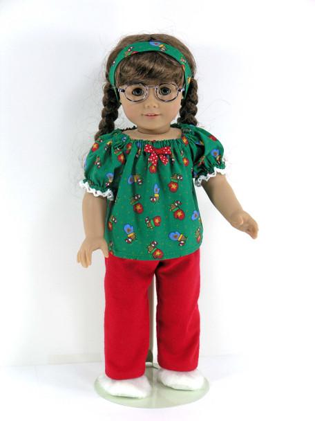 Handmade American Doll Pajamas