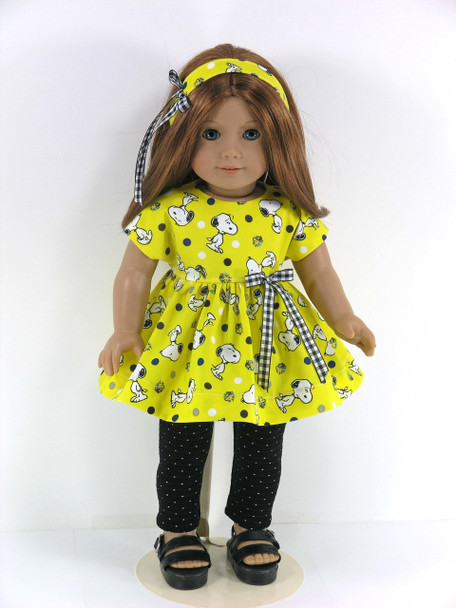 Handmade Snoopy 18 inch Outfit