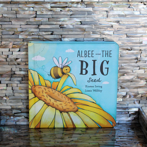 Jellycat's Albee and the Big Seed