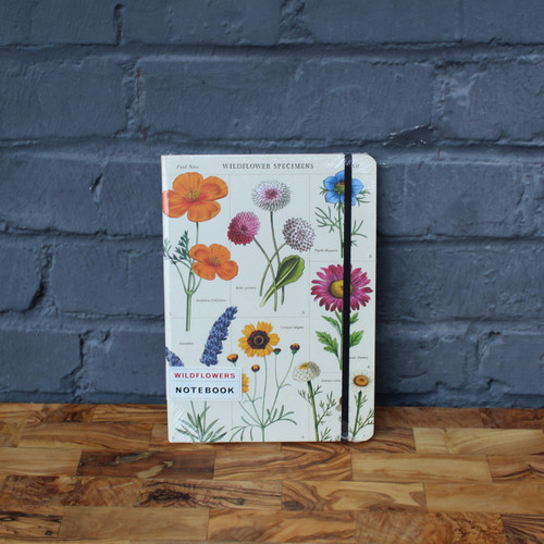 Cavallini Wildflowers Large Notebook