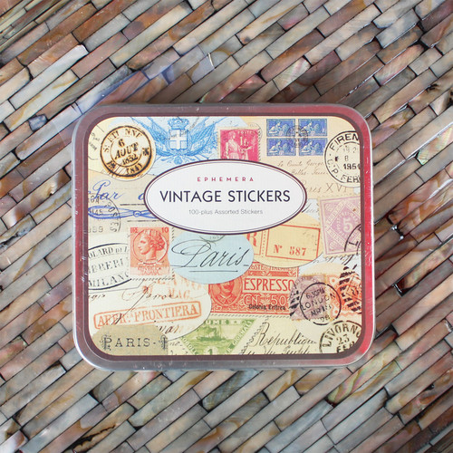 Ephemera Vintage Stickers