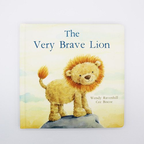 Jellycat's The Very Brave Lion book