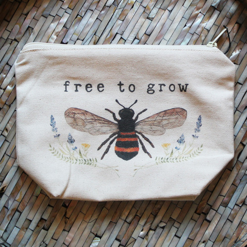 Tote Project - Free to Grow (Bee)