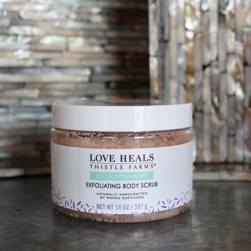 Thistle Farms Eucalyptus Mint Exfoliating Body Scrub