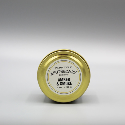 Paddywax Apothecary Candle - Amber & Smoke