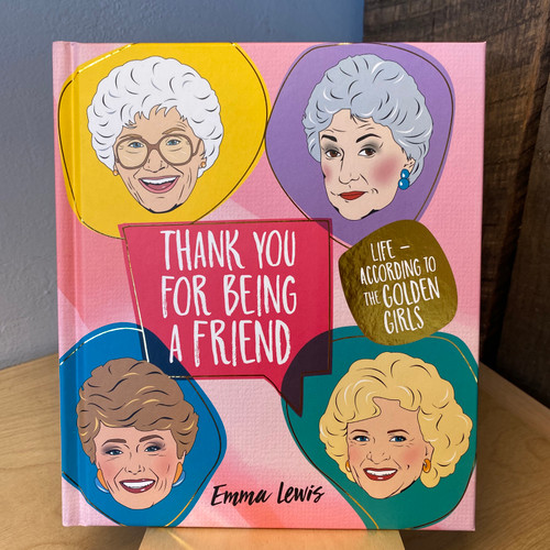 Thank You For Being A Friend Book Front