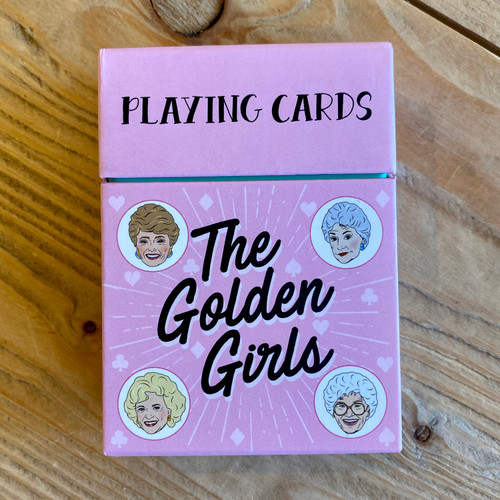 Golden Girls Playing Cards Front