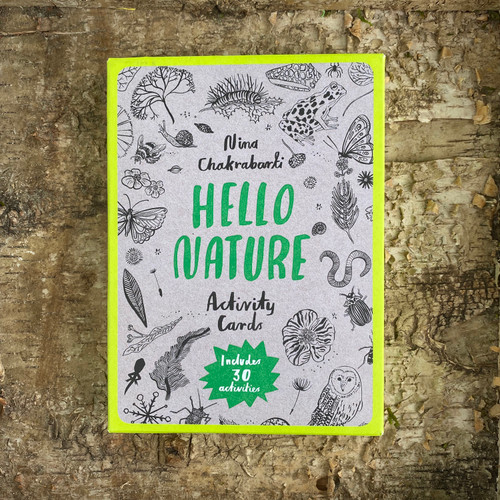 Hello Nature Activity Cards Front