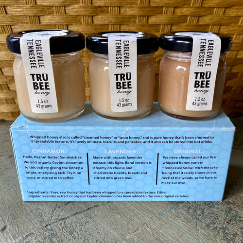Whipped Honey Trio Out Of Box