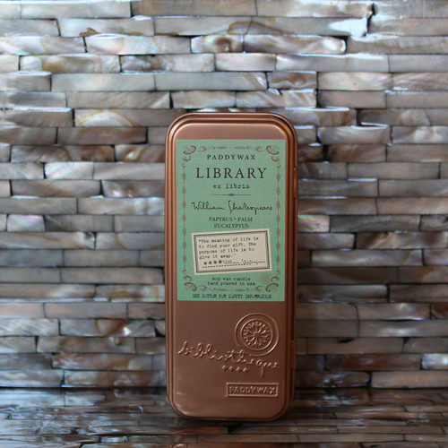 Paddywax Library Series Candle - William Shakespeare