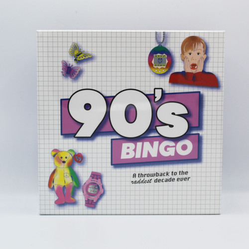 90's Bingo: A Throwback to the Raddest Decade Ever