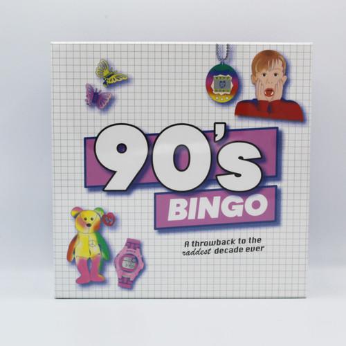 90's Bingo: A Throwback to the Raddest Decade Ever