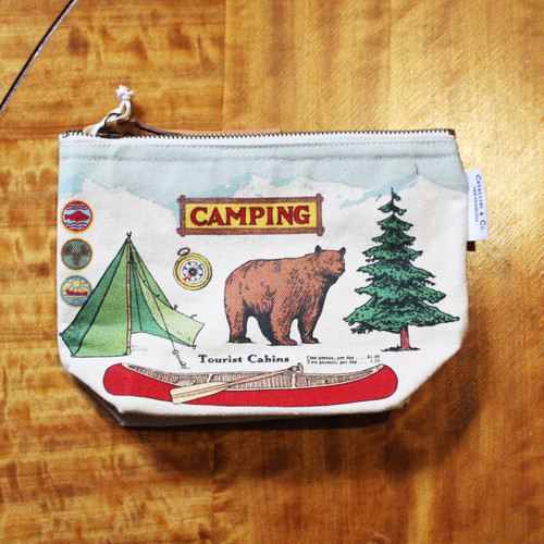 Vintage Camping Pouch