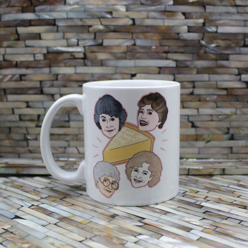 Golden Girls Cheesecake Mug