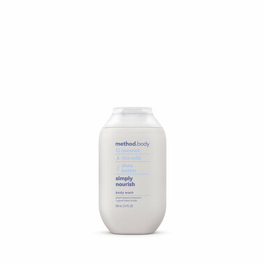 simply nourish body wash, 3.4 fl oz-5
