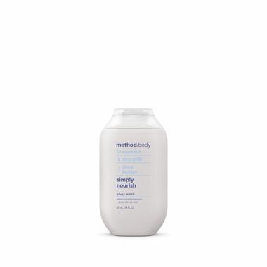 simply nourish body wash, 3.4 fl oz-3