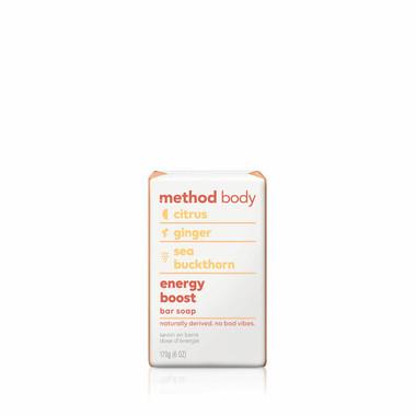energy boost bar soap, 6 oz-12