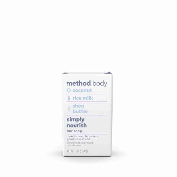 simply nourish bar soap, 6 oz-