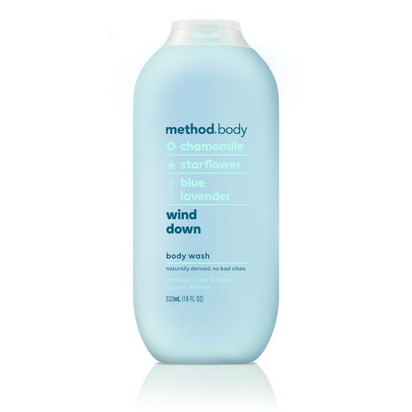 wind down body wash, 18 fl oz-