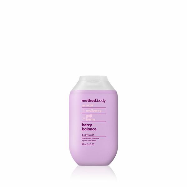 berry balance body wash, 3.4 fl oz-