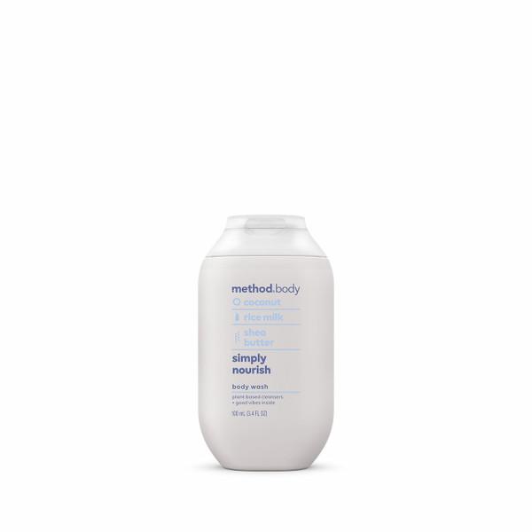 simply nourish body wash, 3.4 fl oz-