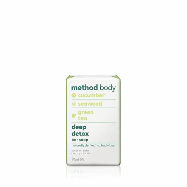deep detox bar soap, 6 oz-