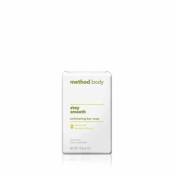 stay smooth exfoliating bar soap, 6 oz-