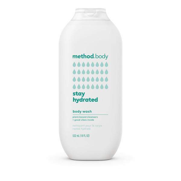 stay hydrated body wash, 18 fl oz-