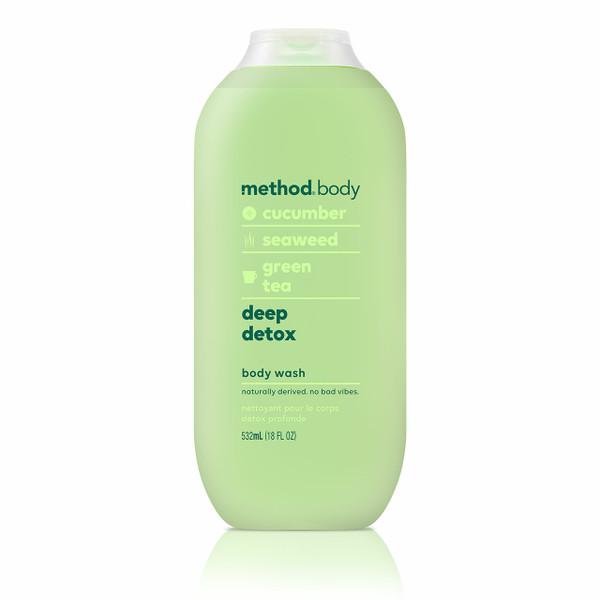 deep detox body wash, 18 fl oz-